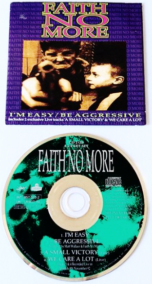 Faith No More ‎- I'm Easy/Be Aggressive (CD Single Pt 2) (G+/VG)